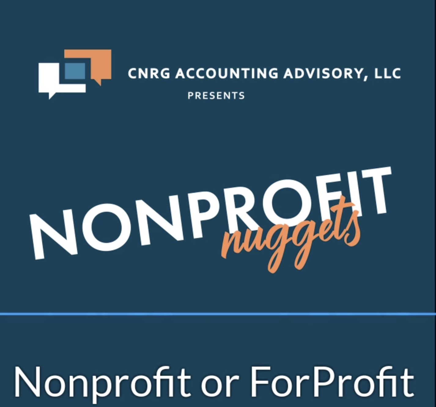 NonProfit or ForProfit
