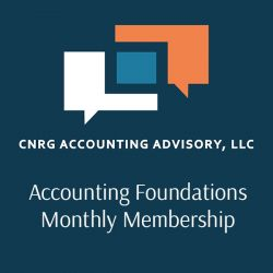 Accounting Foundations Monthly